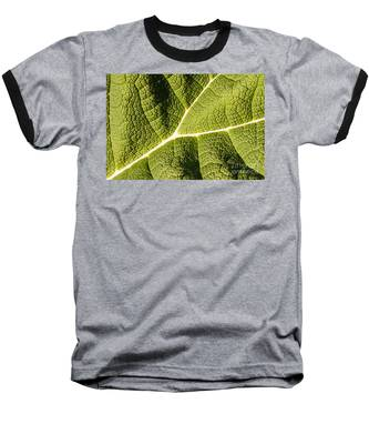 Veins Of A Leaf Baseball T-Shirt