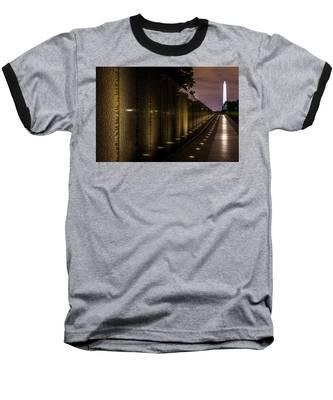 Vietnam Veterans Memorial Baseball T-Shirt
