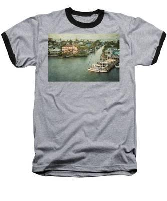 View At Fort Myers Beach - Florida Baseball T-Shirt
