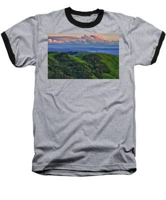 View Of Morro Bay Baseball T-Shirt