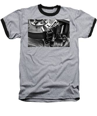 Vintage Hard Drive Baseball T-Shirt