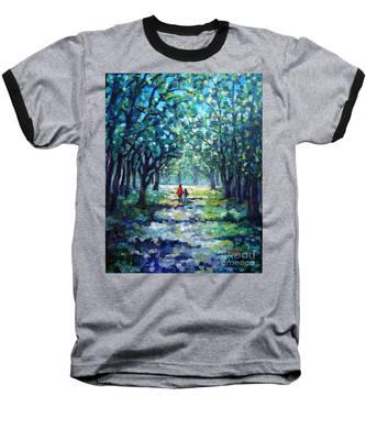 Walking In The Park Baseball T-Shirt