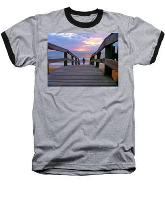 Walking Into Paradise Baseball T-Shirt