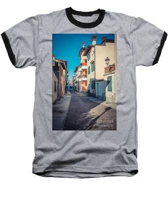 walking through Grado - through the past Baseball T-Shirt