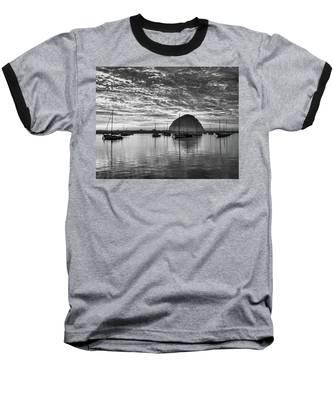 Morro Bay On Fire Baseball T-Shirt