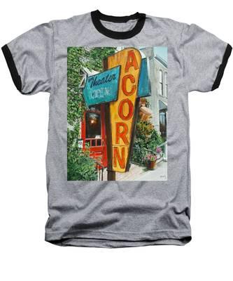 Acorn Theater Baseball T-Shirt