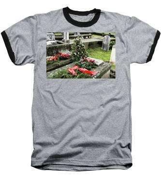 Always Home For Christmas Baseball T-Shirt