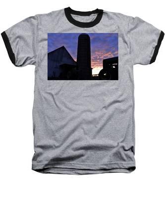 Barnyard Sunrise IIi Baseball T-Shirt