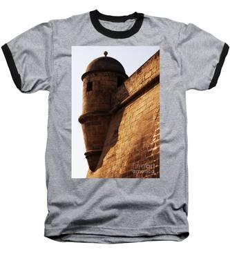 Battlement Baseball T-Shirt