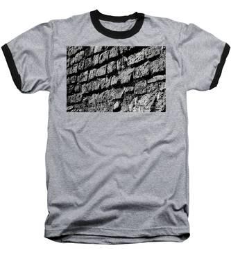 Black Wall Baseball T-Shirt