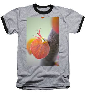 Budding Heart Baseball T-Shirt