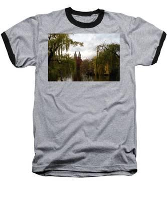 Central Park Autumn Baseball T-Shirt