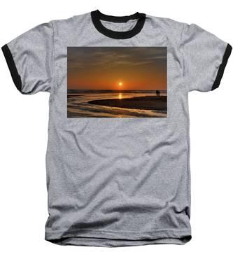 Enjoying The Sunset Baseball T-Shirt