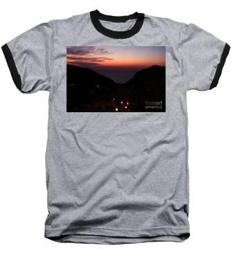 Estellencs View Baseball T-Shirt