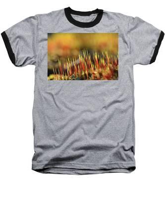 Flaming Moss Baseball T-Shirt