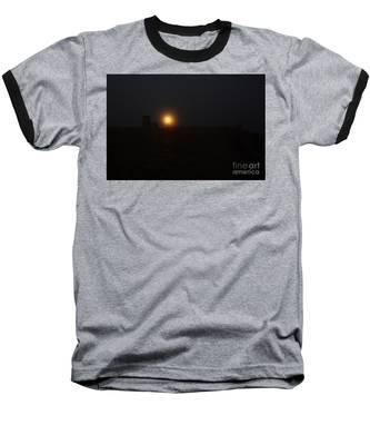 Fog In San Salvador Baseball T-Shirt