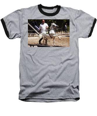 Horse Training Baseball T-Shirt
