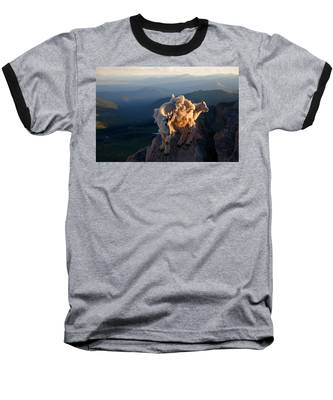Two Faces West Baseball T-Shirt