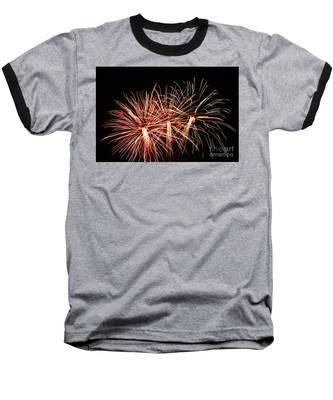 Light Painting Baseball T-Shirt