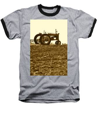 Old Tractor I In Sepia Baseball T-Shirt