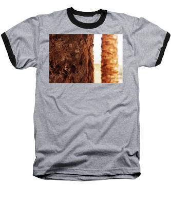Palm And Wall 2 Baseball T-Shirt