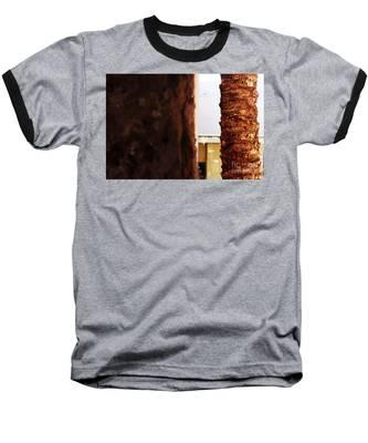 Palm And Wall Baseball T-Shirt