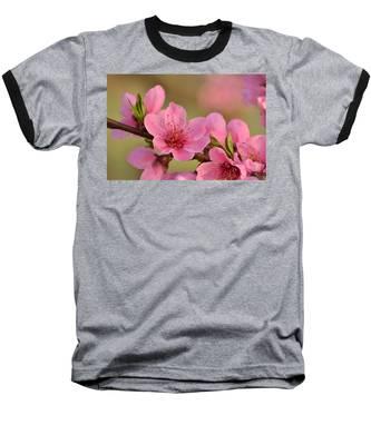 Peach Beautiful Baseball T-Shirt