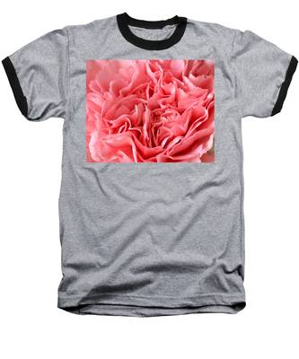 Pink Carnation Baseball T-Shirt