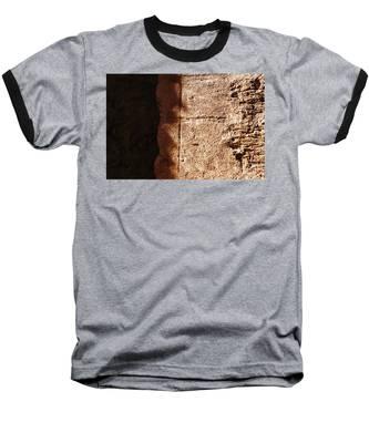 Red Texture Baseball T-Shirt