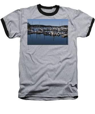 Roche Harbor Reflected Baseball T-Shirt