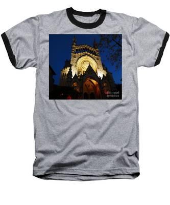 Soller Cathedral Baseball T-Shirt