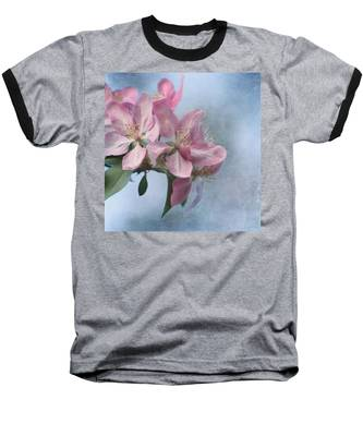 Spring Blossoms For The Cure Baseball T-Shirt