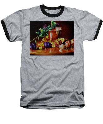 Pail Of Plenty Baseball T-Shirt