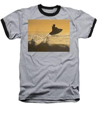 Catching Air Baseball T-Shirt