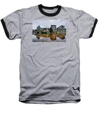 Downtown Of Greenville South Carolina Around Falls Park Baseball T-Shirt