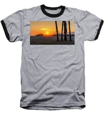 Golden Glow At Sunset Baseball T-Shirt
