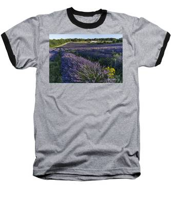 Baseball T-Shirt featuring the photograph Lavender Field Provence  by Juergen Held
