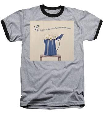 Comfort Zone Baseball T-Shirt