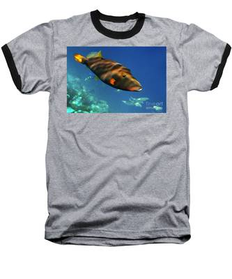 Baseball T-Shirt featuring the photograph Maldives by Juergen Held