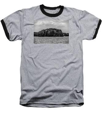 Relaxing On Lake Keowee In South Carolina Baseball T-Shirt