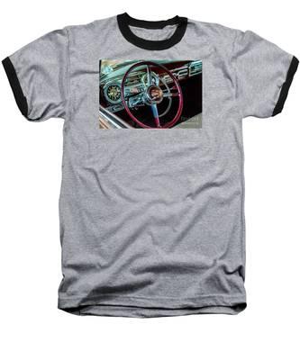 1951 Hudson Hornet Baseball T-Shirt