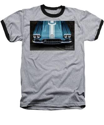 1960 Corvette Baseball T-Shirt