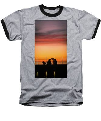 22nd St Sunset Baseball T-Shirt