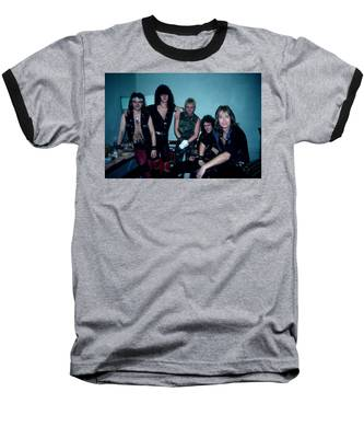 Accept  Baseball T-Shirt by Rich Fuscia
