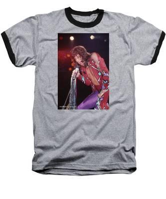 Steven Tyler Baseball T-Shirt by Rich Fuscia