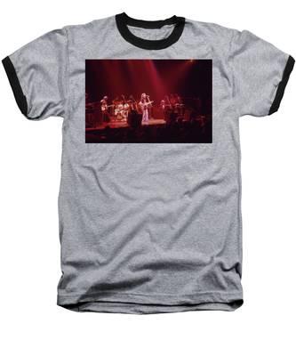 Al Stewart Baseball T-Shirt by Rich Fuscia
