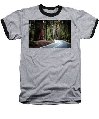 Baseball T-Shirt featuring the photograph A Bright Future Around The Bend by Andrea Platt