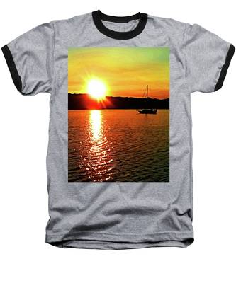 A Early Springtime Visit To Mystic Village In M Baseball T-Shirt