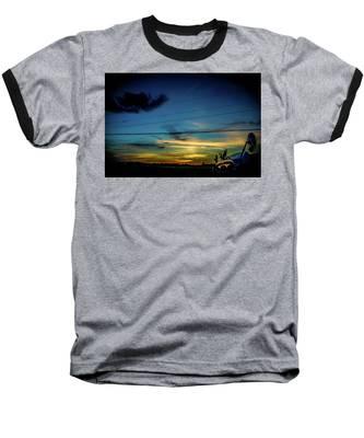 A Trucker's View Baseball T-Shirt