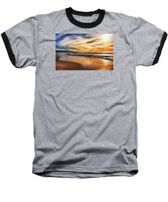 Afternoon At The Beach Baseball T-Shirt